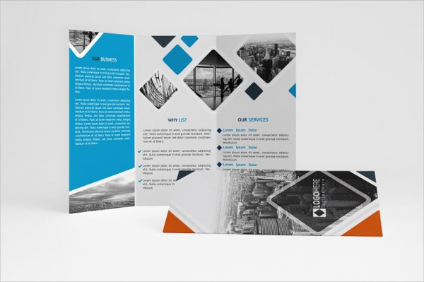 Clean Multipurpose Trifold Brochure Design