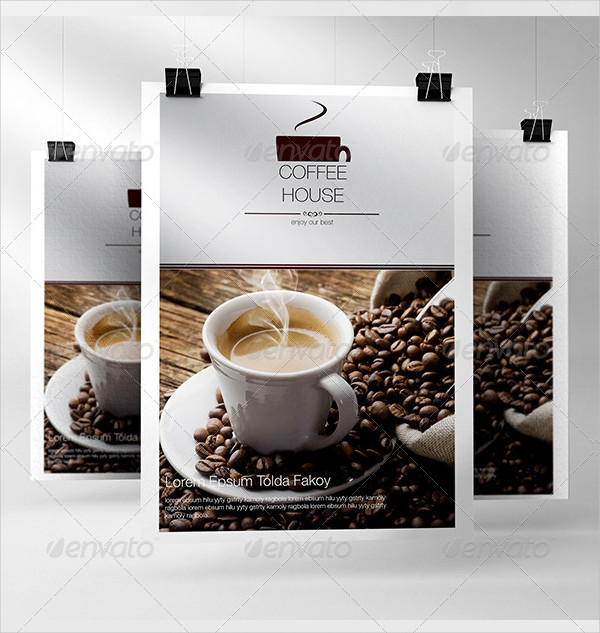 Coffee Menu InDesign Template