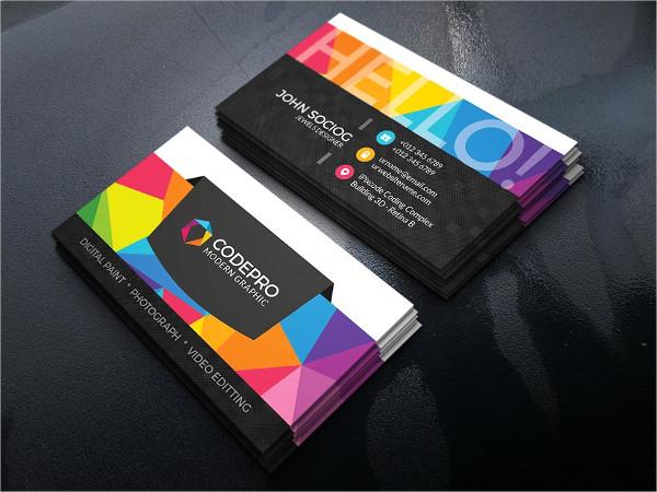 Corporate Web Studio Business Cards
