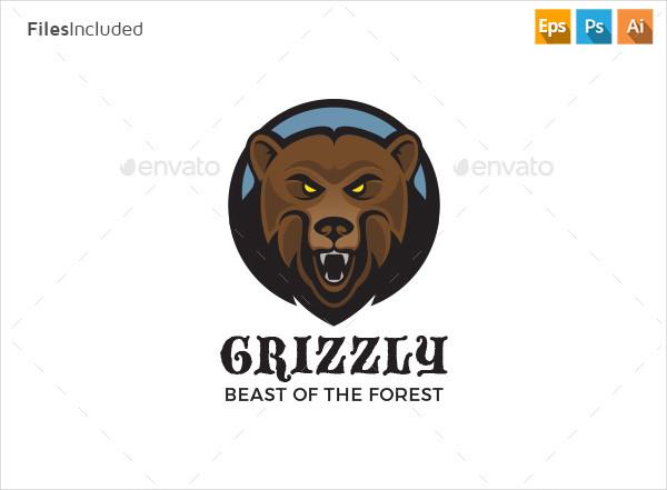 Creative Bear Logo Design