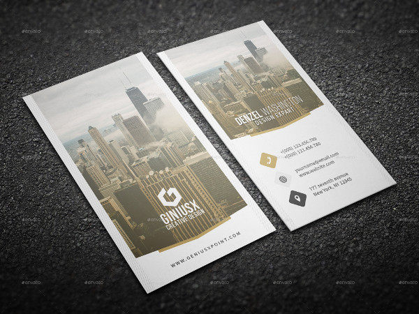 Creative Design Business Card Template