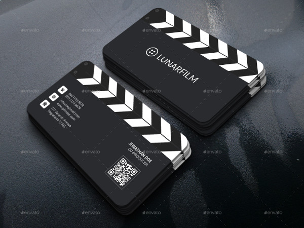 Creative Film Clipperboard Business Card Design