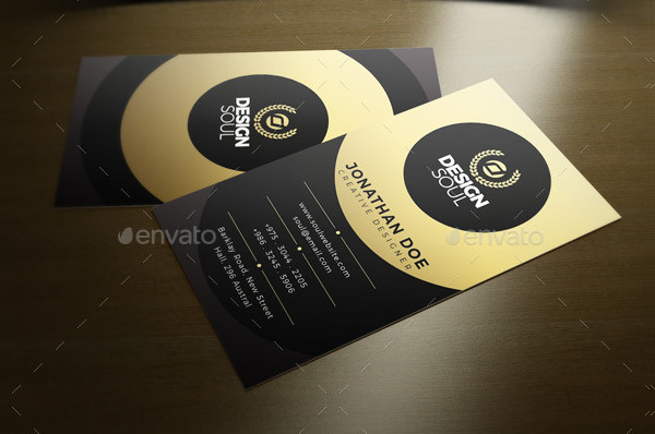 Creative PSD Business Card Template