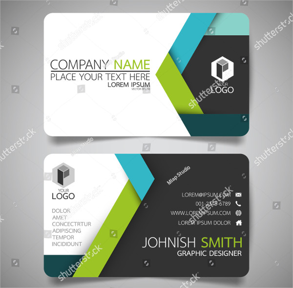 Creative Visiting Card Template