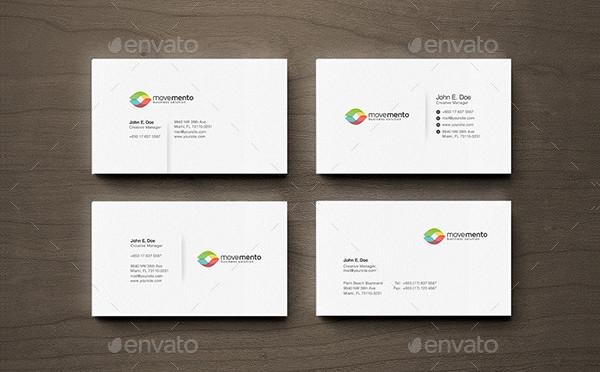 Custom Clean Business Cards Designs
