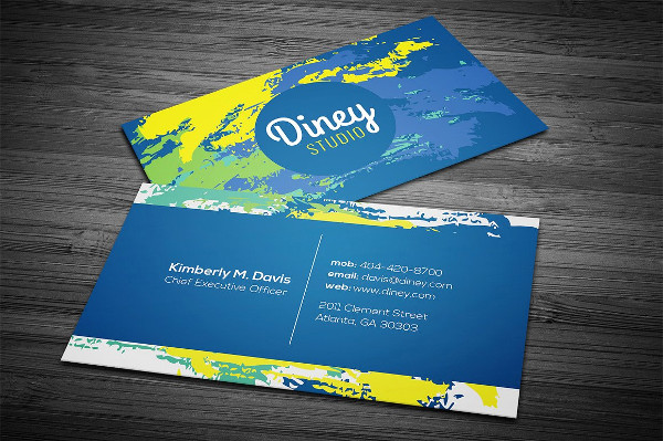 Customizable Creative Business Card