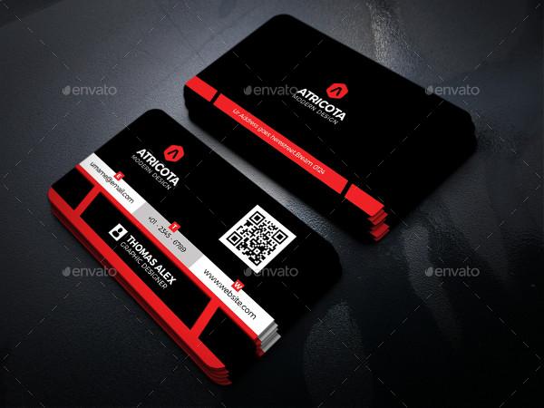 Customizable Modern Business Card Template