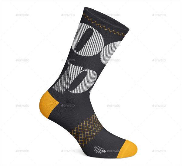 Cycling Socks 3 Types Mockup