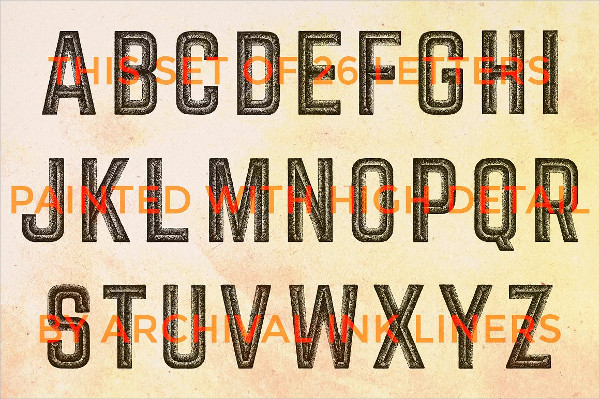 Decorative Font Symbols