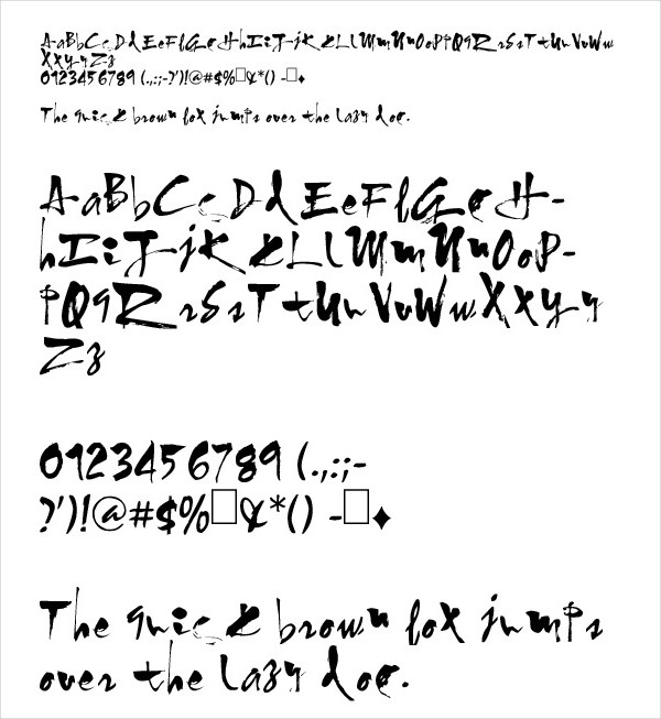 Cool Symbols Font