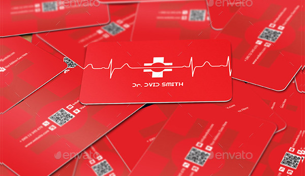 Design Business Card Template for Doctor