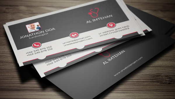 Doctor Business Card Templates