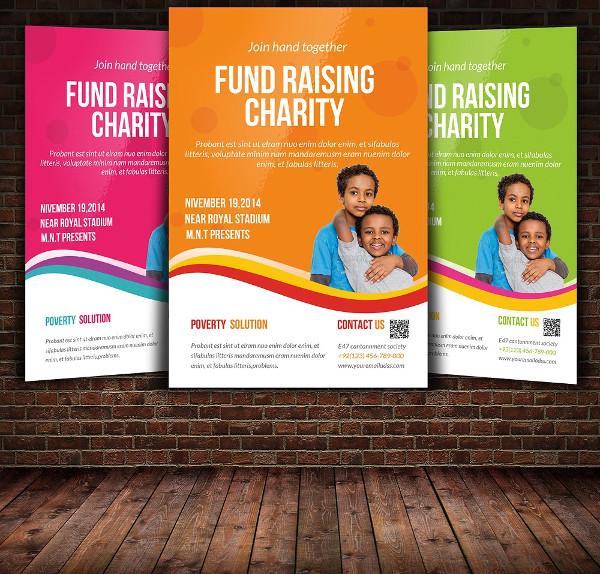 donation flyer template 21 free premium designs download