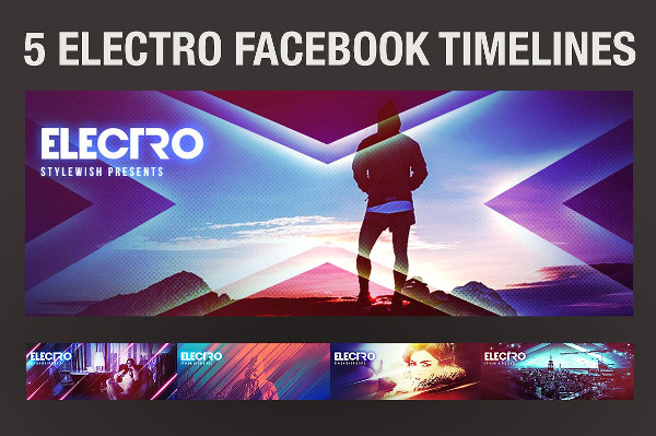 Electro Facebook Timeline Covers