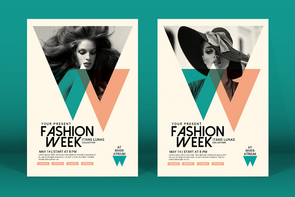 Elegant Fashion Week Flyer Template