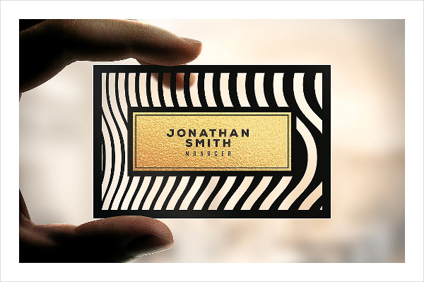 Elegant Plastic Business Cards
