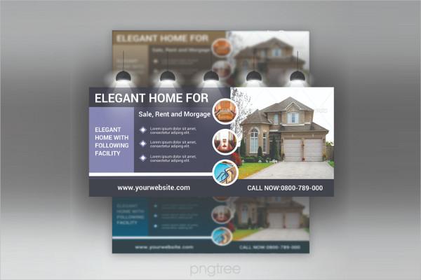 Elegant Real Estate Business Billboard Design