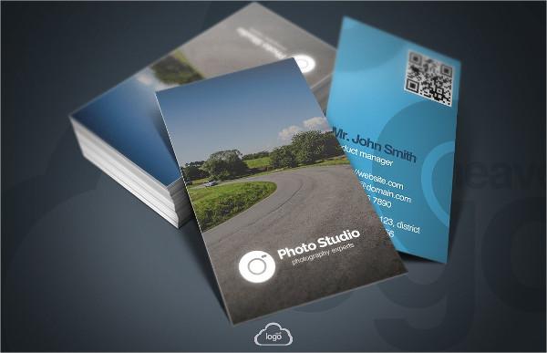 Elegant Studio Business Cards