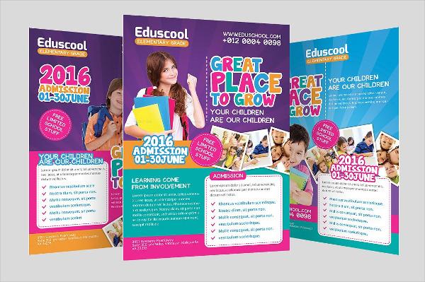 Elementary School Promotion Flyer