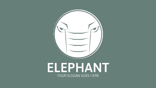 Elephant Logo Brand