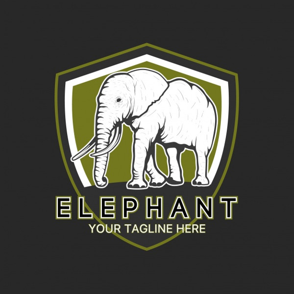 Elephant Logo Template Free Download