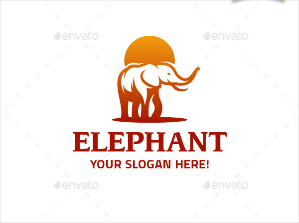 Elephant Logo for Ecological Organizations