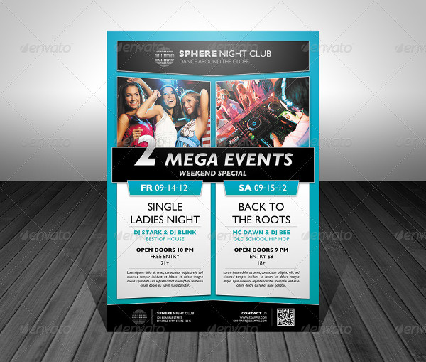 Event Promotion Flyers Bundle