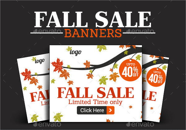 Fall Sale Banner Design
