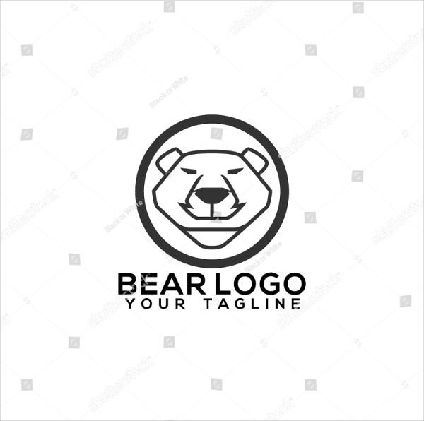 Famous Bear Logo Design
