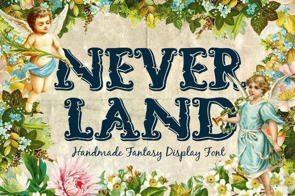 Fantasy Handmade Font