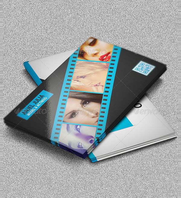 Film Maker Business Card Template