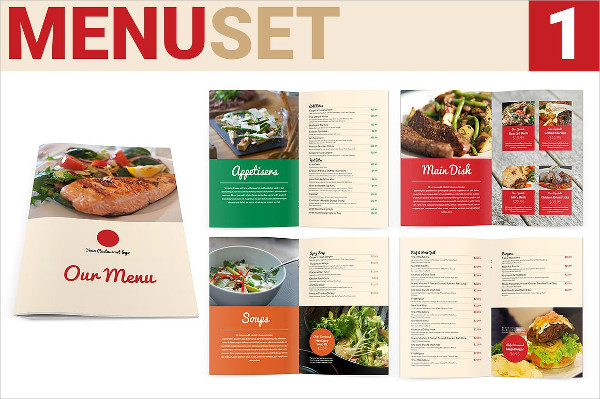 Food Menu Mega Set