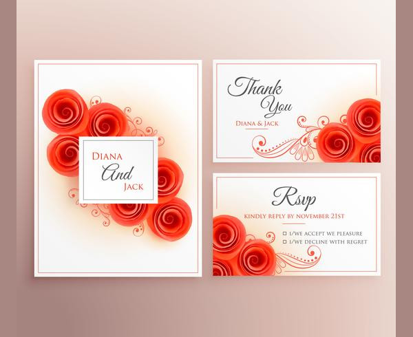 Free Beautiful Marriage Invitation Card Download