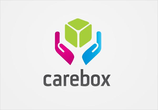 Free Care Box Logo Template Download