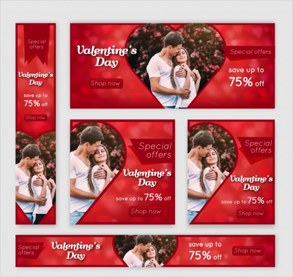 Free Download Valentine's Day Banner Web