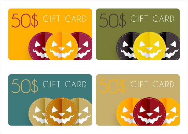 Free Halloween Gift Cards Download
