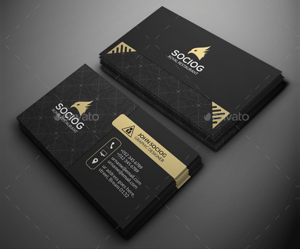 Free Luxury Business Cards Design Download