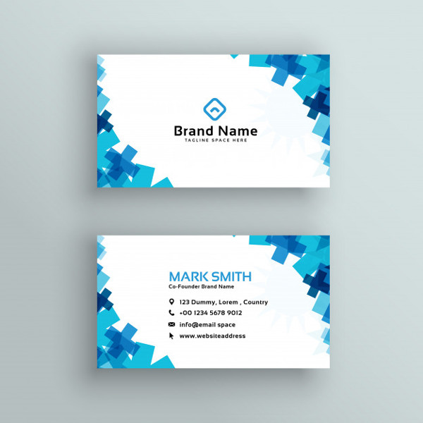 Free Medical Style Business Card Template