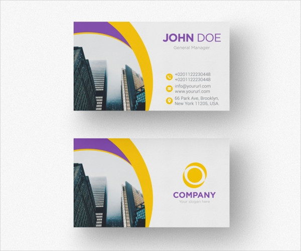 Free PSD Creative Business Cards