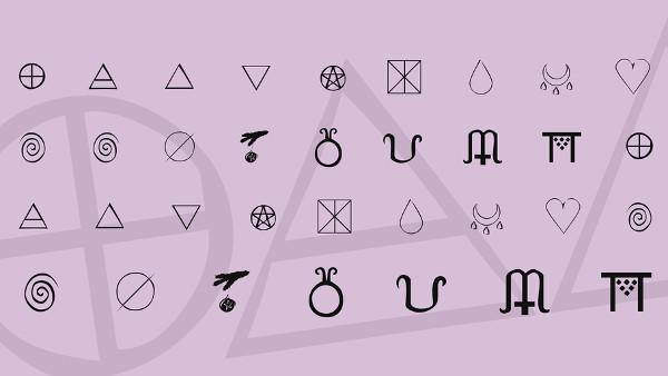Free Symbols Font Download