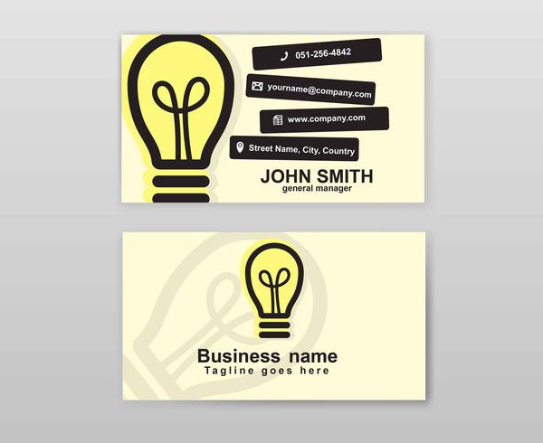 Graphic Design Business Card for Film Industry Free