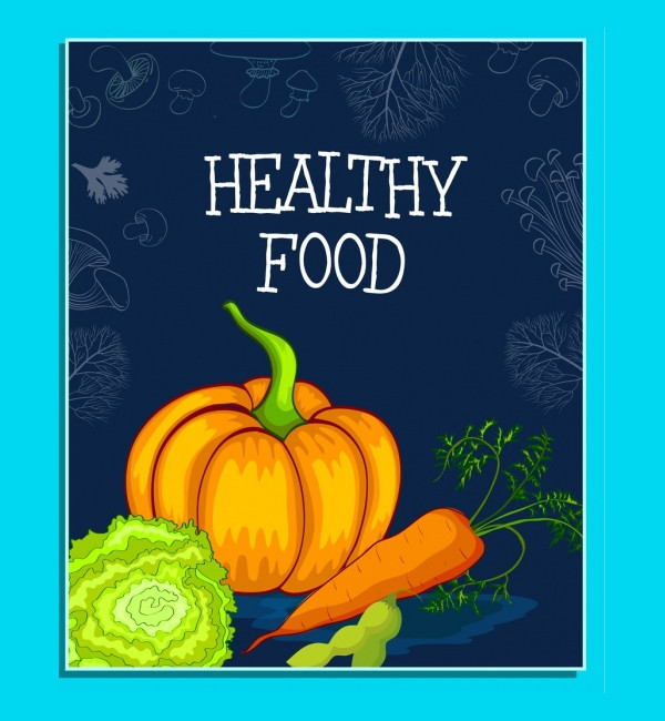 Healthy Food Banner Template Free