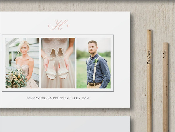 Holiday Photographer Gift Card Template
