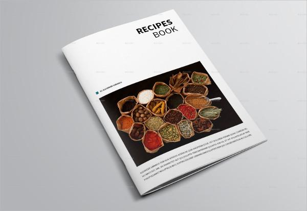 InDesign Recipes Book Template
