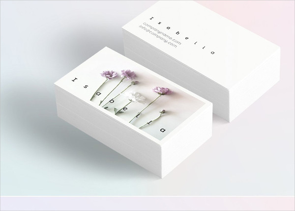 Best Floral Business Card Template