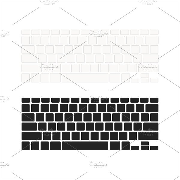 Keyboards with Empty Buttons