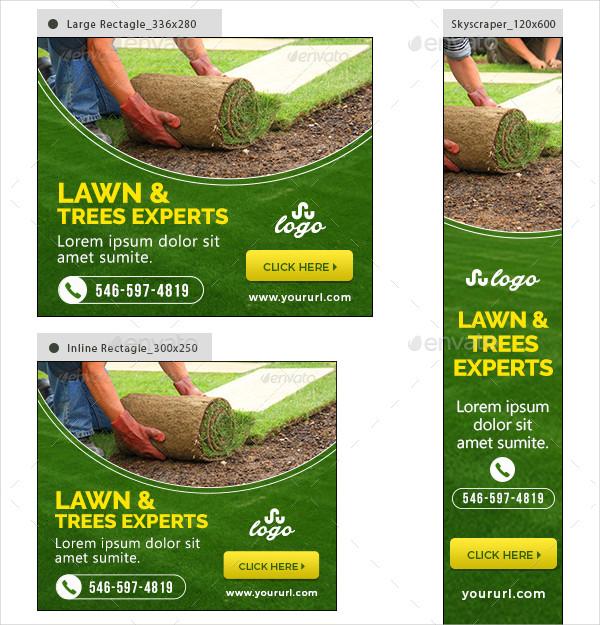 Landscape Company Banners Design