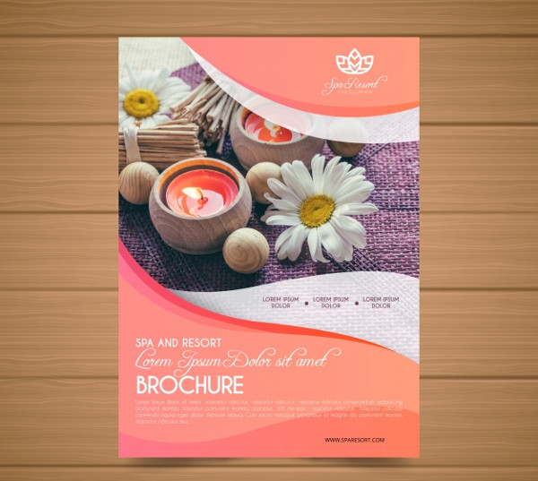 Lovely Spa Flyer Template Free Download