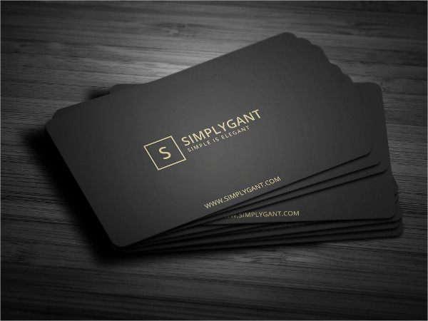 Luxurious Gold Studio Business Card