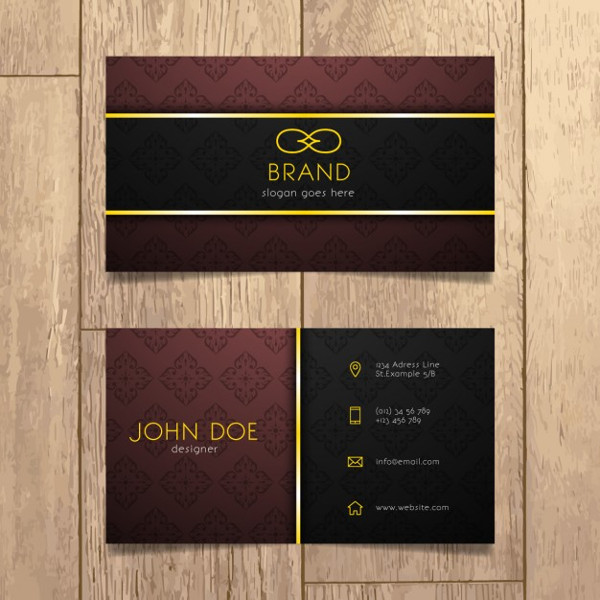 Luxury Business Cards Design Free Download